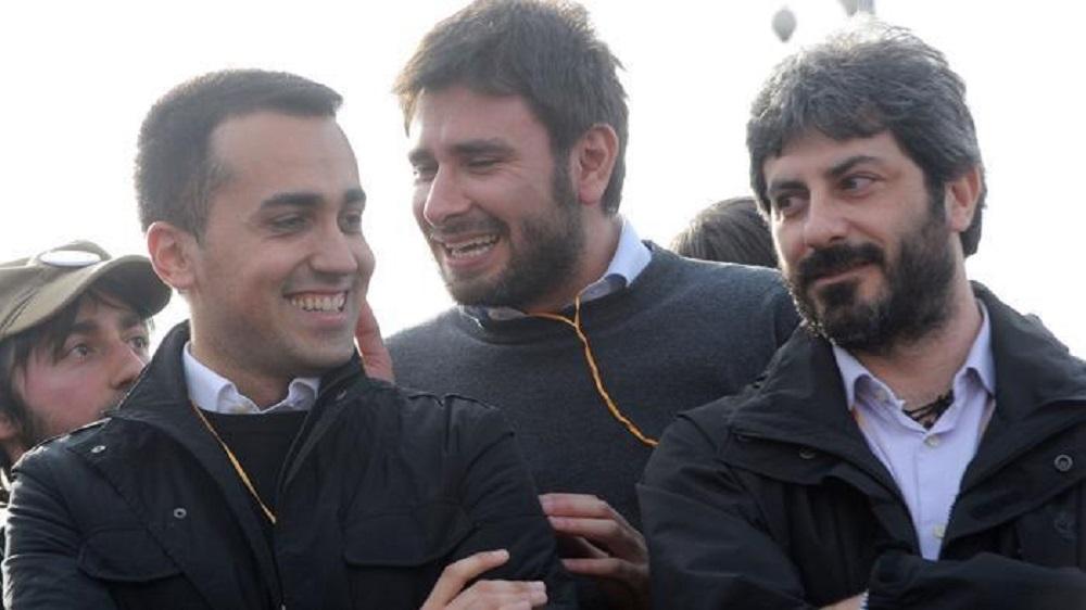 Roberto Fico, Di Maio, Di Battista