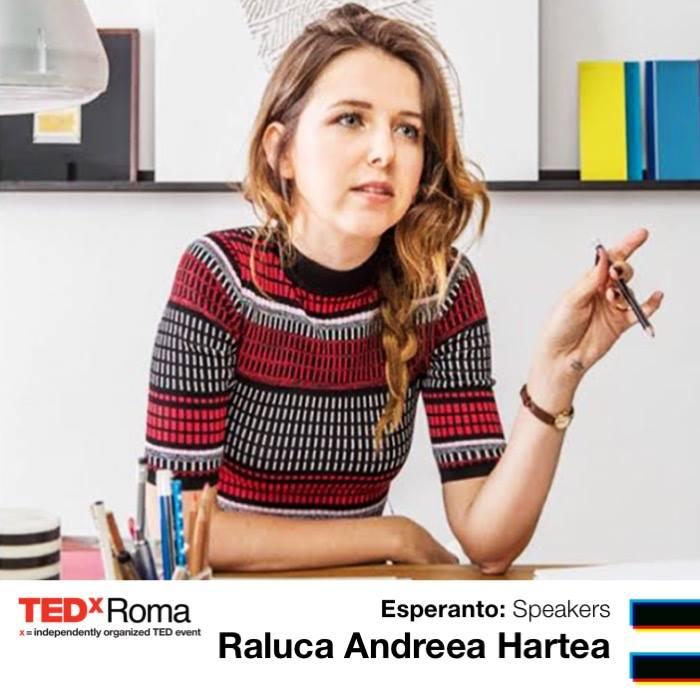 Raluca Andreea Hartea Workengo TEDxRoma 2018